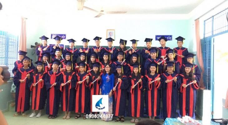May áo tốt nghiệp, lễ phục tốt nghiệp giá rẻ HCM