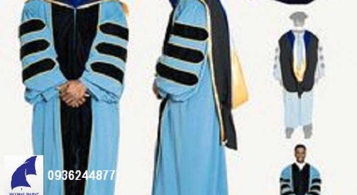 Sản xuất lễ phục tốt nghiệp, áo cử nhân, áo thạc sỹ, áo tiến sỹ